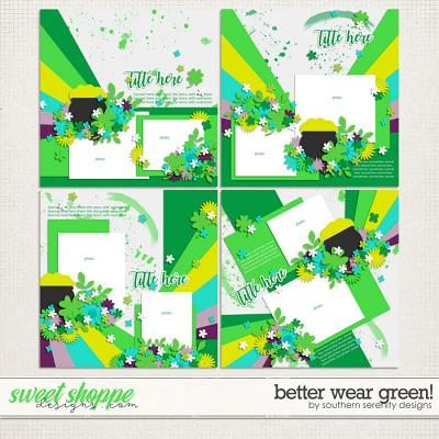 Better Wear Green! Layered Templates by Southern Serenity Designs