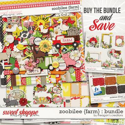 Zoobilee {Farm} : Bundle by Meagan's Creations
