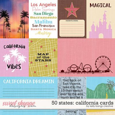 50 States: California cards by Kelly bangs Creative
