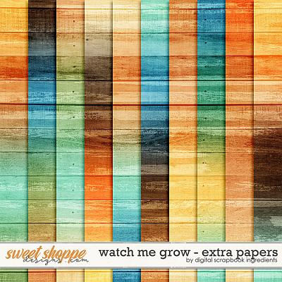 Watch Me Grow | Extra Papers by Digital Scrapbook Ingredients