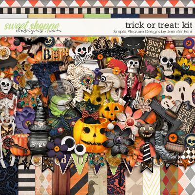 trick or treat kit: Simple Pleasure Designs by Jennifer Fehr