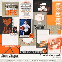 3 Point Shot Cards by Traci Reed