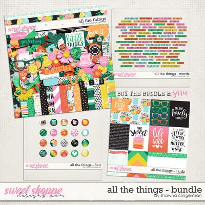All the Things Bundle by Shawna Clingerman