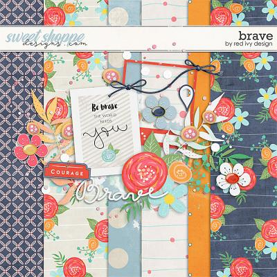 Brave - FREE SAMPLE by Red Ivy Design