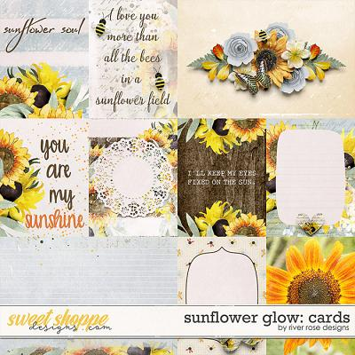 Sunflower Glow: Cards by River Rose Designs