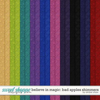 Believe in Magic: Bad Apples Shimmers by Amber Shaw