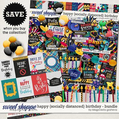 Happy {socially distanced} Birthday: Bundle by Blagovesta Gosheva