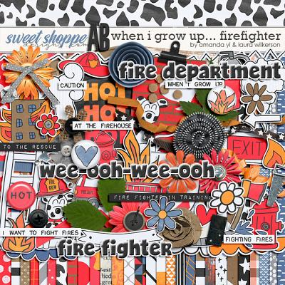 When I Grow Up...Firefighter by Amanda Yi and Laura Wilkerson