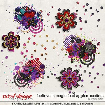 Believe in Magic: BAD APPLES- SCATTERZ by Studio Flergs