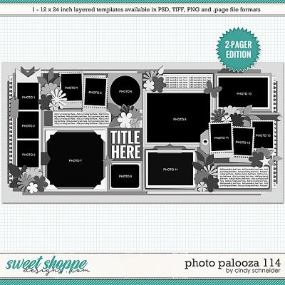 Cindy's Layered Templates - Photo Palooza 114 by Cindy Schneider