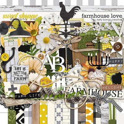 Farmhouse Love by Kelly Bangs Creative