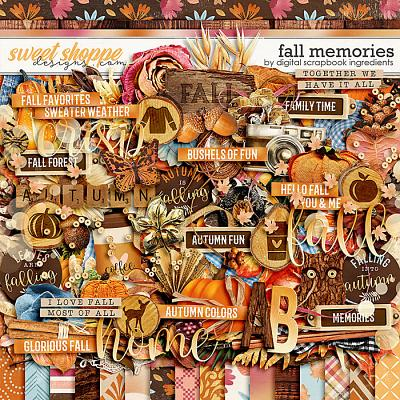 Fall Memories by Digital Scrapbook Ingredients