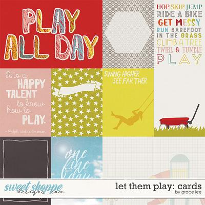 Let Them Play: Cards by Grace Lee