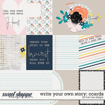Write Your Own Story: Cards by River Rose Designs