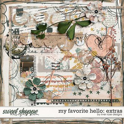 My Favorite Hello: Extras by River Rose Designs