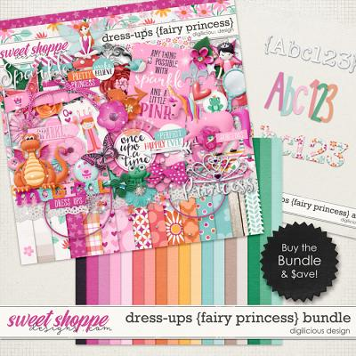 Dress-ups {Fairy Princess} Bundle by Digilicious Design