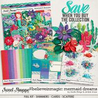 #believeinmagic: Mermaid Dreams Collection by Amber Shaw & Studio Flergs