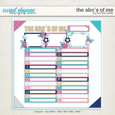 The ABC´s Of Me by Two Tiny Turtles