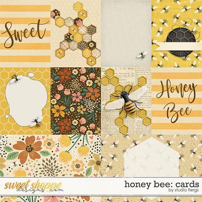 Honey Bee: CARDS by Studio Flergs