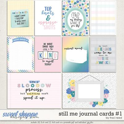 Still Me Journal Cards #1 by Traci Reed