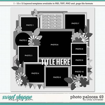 Cindy's Layered Templates - Photo Palooza 49 by Cindy Schneider