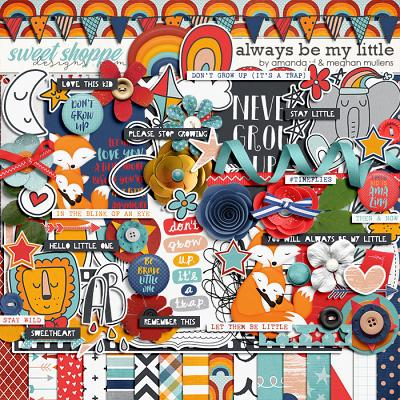 Always Be My Little-Kit by Amanda Yi Designs & Meghan Mullens