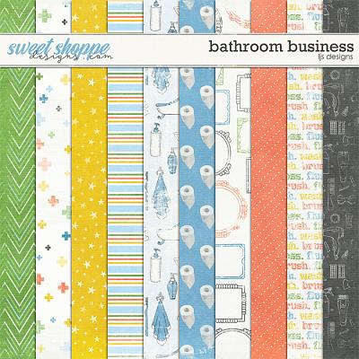 Bathroom Business Papers by LJS Designs