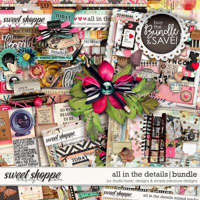 All In The Details Bundle by Simple Pleasure Designs and Studio Basic