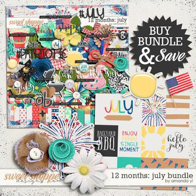 12 Months: July Bundle by Amanda Yi