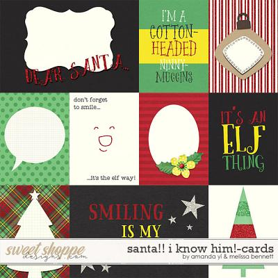 Santa! I Know Him!-Cards by Amanda Yi & Melissa Bennett