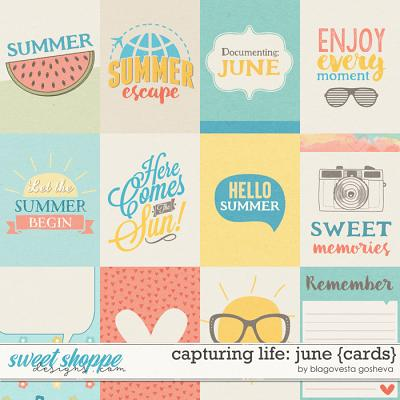 Capturing life: June {cards} by Blagovesta Gosheva