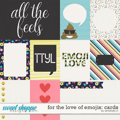 For The Love Of Emojis: Cards by Amanda Yi