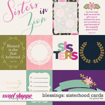 Blessings: Sisterhood Cards by Grace Lee