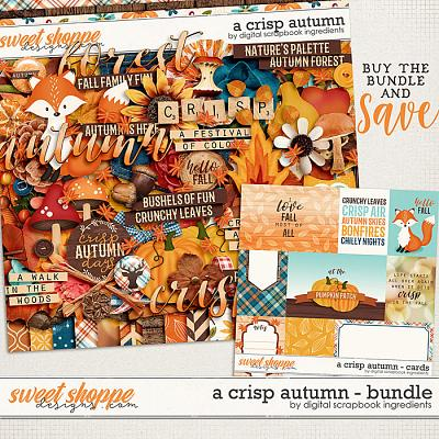 A Crisp Autumn Bundle by Digital Scrapbook Ingredients