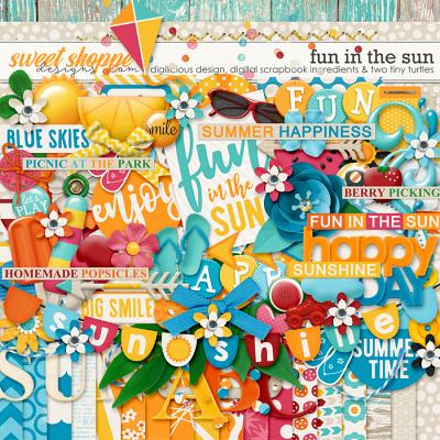 Fun In The Sun by Digilicious Design, Two Tiny Turtles & Digital Scrapbook Ingredients