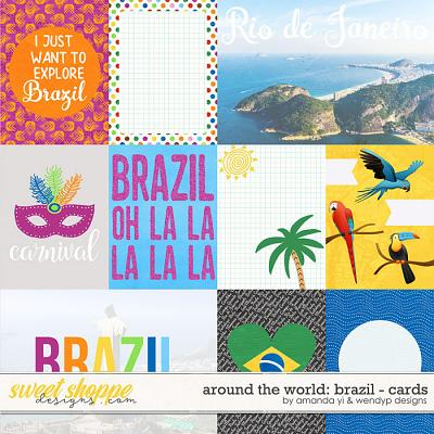 Around the world: Brazil - Cards by Amanda Yi & WendyP Designs
