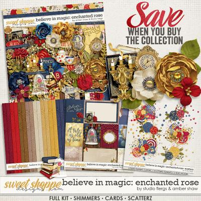 Believe In Magic: Enchanted Rose Collection by Amber Shaw & Studio Flergs