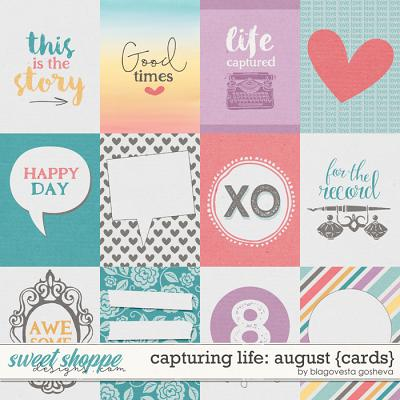 Capturing Life: August {cards} by Blagovesta Gosheva