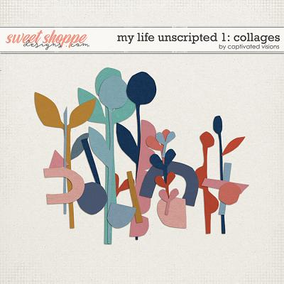 My Life Unscripted 1: Collages by Captivated Visions