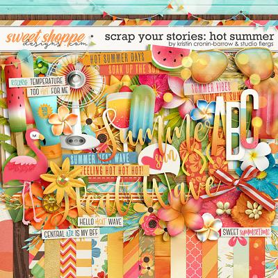 Scrap Your Stories: Hot Summer by Studio Flergs and Kristin Cronin-Barrow