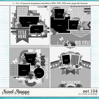 Cindy's Layered Templates - Set 194 by Cindy Schneider