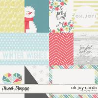 Oh Joy Cards by Sugary Fancy