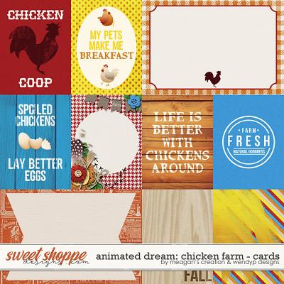 Animated Dream: Chicken Farm Cards by Meagan's Creations and WendyP Designs