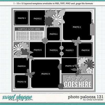 Cindy's Layered Templates - Photo Palooza 131 by Cindy Schneider