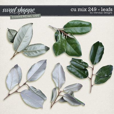 CU mix 249 - leafs by WendyP Designs