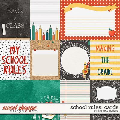 School Rules: Cards by River Rose Designs