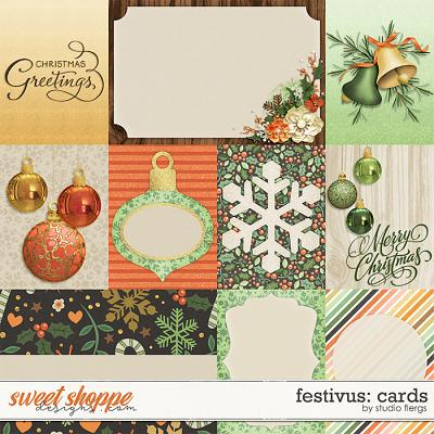 Festivus: CARDS by Studio Flergs
