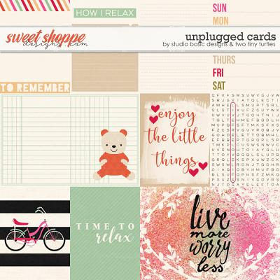 Unplugged: Cards by Studio Basic Designs & Two Tiny Turtles