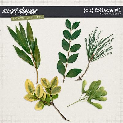 CU Foliage #1 by Red Ivy Design