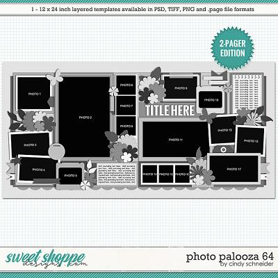 Cindy's Layered Templates - Photo Palooza 64 by Cindy Schneider